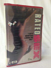 RATED SEX / VHS / KARI FOXX / ADULT FILM / EROTICA  / RATED R / NOT ON DVD