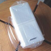 Bose Jewel Double Cube Mint Premium Speakers Pristine Condition White