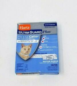 Hartz UltraGuard Plus FLEA & TICK COLLAR for Cats and Kittens Reflect-X Shield