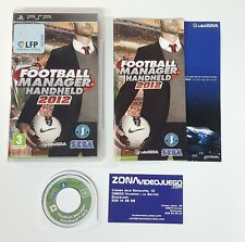 Football Manager Handheld 2012, Sony Psp, Pal-Esp.