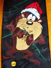 LOONEY TUNES ~ XMAS ~ MENS TIE NECKTIE ~ TAZMANIAN DEVIL SHOCKING CHRISTMAS  !!!