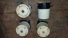4x Warntonsirene, 12v, 24 V, Feuermelder, Rauchmelder, Brandmelder BMZ
