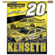 "MATT KENSETH #20 DOLLAR GENERAL 27""X37"" VERTICAL BANNER FLAG BRAND NEW WINCRAFT"