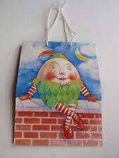American Greetings AGC Humpty Dumpty Small Gift Bag Jester Outfit Children Baby
