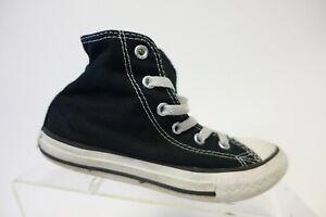 CONVERSE All-Star Chuck Taylor Black Sz 13 Kids Skate Sneakers