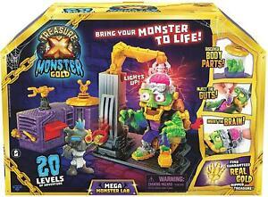 Treasure X Monster Gold Mega Monster Lab Science Playset