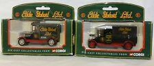 2x Corgi 61214 diecast collectables Eddie Stobart delivery vans BOXED