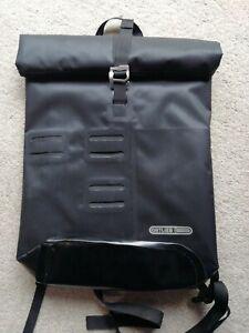 Ortlieb Commuter City 21L Roll Top Waterproof Rucksack Bag Black