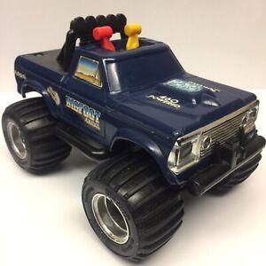 Vintage 1983 Playskool Ford 460 BIGFOOT 4x4x4 Monster Truck Toy ~ New Batteries!