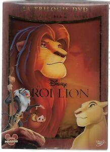 LE ROI LION - Trilogie - Disney / Coffret 3 DVD Neuf sous blister - VF