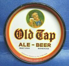 Vintage Old Tap Ale Beer Tray Sign Enterprise Brewing Fall River Massachusetts