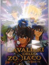 """I CAVALIERI DELLO ZODIACO """"la serie TV""""  n.10 - DVD 145m ca. - YAMATO VIDEO"""