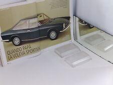 FIAT 124 SPORT COUPE 3° SERIE 72/75 - TRASPARENTI FANALI POSTERIORI DX E SX