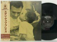 Stan Getz - Stan Getz Plays LP 1986 Japan Verve Records Cool Jazz VINYL w/ obi
