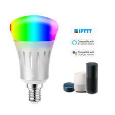V1-S Smart WIFI LED Bulb RGB+W LED Bulb 11W E14 Dimmable Light Phone Remote S3Q8
