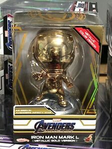 Hot Toys Avengers: Endgame Mark 50 L Metallic Gold Version Cosbaby [cosb581]