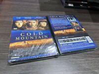 Cold Mountain DVD Jude Law Nicole Kidman Renee Zellweger Sigillata Nuovo