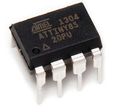 10 PCS ATTINY85-20PU ATTINY85 MCU 8BIT 8KB MICROCONTROLLER - SHIPPED FROM USA