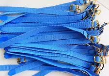 PROMO 50 Bracelet Montre Watch Bands Nylon Tressé Style Nato 8 mm Bleu Ciel 22 c