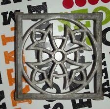 Ancien Dessous de Plat Étoile 1950 Vintage 17,5 x 17,5 cm aluminium