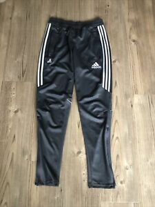 Adidas Joggers Grey Mens Small Lounge Wear / Gym / Jogging Bottom