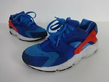 Nike Air Huarache Trainers size 4 Blue Red Womens Ladies Running Shoes EUR 36.5