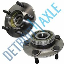 Pair: 2 New REAR Chrysler Dodge Cars ABS Complete Wheel Hub and Bearing Assembly