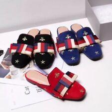 Zapatos de tacón de mujer planos multicolores