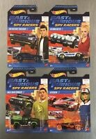 NEW HOT WHEELS 2020 FAST & FURIOUS SPY RACERS SET OF 4 THRESHER, CRAWLER, HOTTO