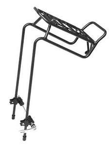 Aluminium Alloy Bicycle Bike Front Pannier Rack Carrier