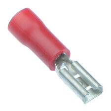 50 x Red 2.8mm Female Insulated Crimp Spade Connector