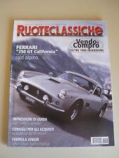 RUOTECLASSICHE 123/1998 - Ferrari 250 GT Spider California/Fiat 1400 Cabriolet