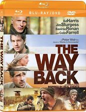 The Way Back (Blu-ray + DVD) Ed Harris, Jim Sturgess, Colin Farrell NEW