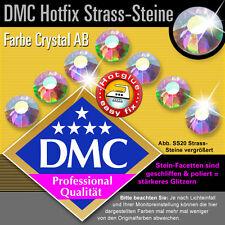 1440 Pièces DMC/MC Hotfix Strass ss20 CRYSTAL AB, à repasser