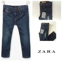 ZARA BOY'S DARK WASH REGULAR FIT JEANS