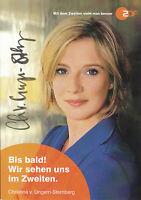 Karin Thaler   Die Rosenheim Cops  ZDF Autogrammkarte signiert  365310