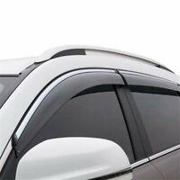 For 2016-2019 Kia Sorento Side Window Visor Rain Sun Deflectors Guard Vent Shade