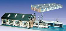Straßenbahn Depot Chemnitz, Kartonbausatz, Maßstab H0 1:87, beliebig erweiterbar