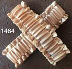 """Cowboy Old West SASS Arm Sleeve Garters in """"Gold Rush Satin"""" - Pair  1464"""