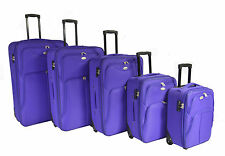 Synthetic Upright (2) Wheels Luggage Sets