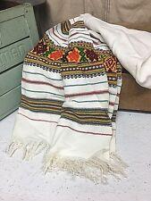 """Tapestry Table Runner Dresser Scarf Tribal Aztec Boho Hippie Fringe Stripes 70"""""""