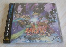 CD ALBUM OST ORIGINAL SOUNDTRACK NARUTO THE MOVIE 20 TITRES JAPAN NEUF