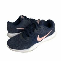 Nike Womens Flex TR8 Training Shoes Blue 924339-402 Low Top Lace Up Sneakers 7
