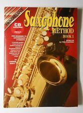 Progressive Saxophone Method Book 1 Book and Cd - used
