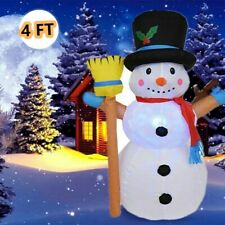 Festival Yard Garden Decors LED Inflatable Snowman Christmas Outdoor Ornaments