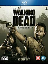 The Walking Dead: Seasons 1-4 Blu Ray [DVD][Region 2]