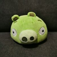 2012 Green Angry Birds Pig Plush Toy