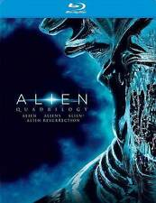 ALIEN, ALIENS,ALIEN 3 & ALIEN RESUR {QUADRILOGY} (Blu-Ray Discs-4 Film Set),NEW!