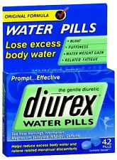 Diurex  Water Pills with Caffeine - 42 tablets