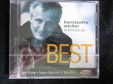 Konstantin Wecker - Es geht uns gut (CD) BEST -Digitally Remastered - NEU&OVP!